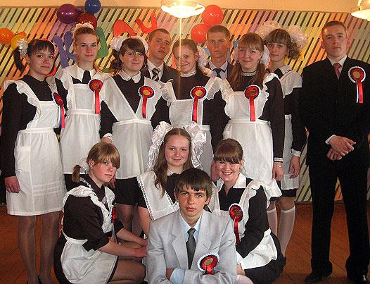 выпускники 2011 года Ведлозерской средней школы