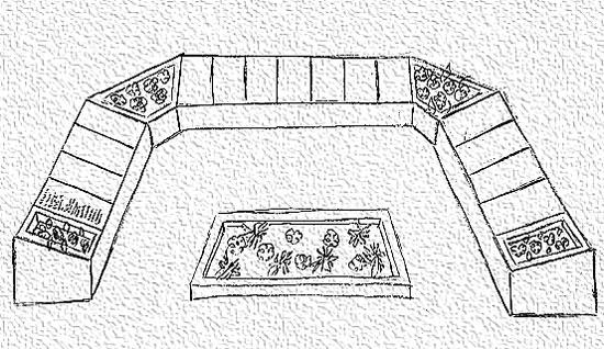 Экскиз мемориала в Ведлозере