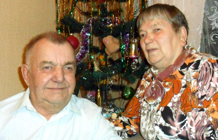 Иван Алексеевич и Эльвира Михайловна Ивановы 50 лет вместе!