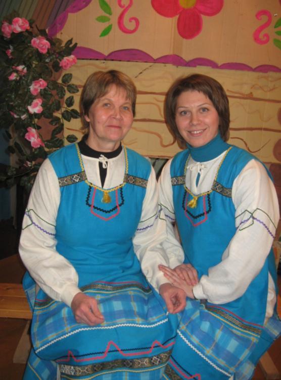 Любовь Нестерова и Ольга Станиславова