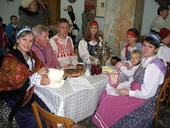 Карельская семья