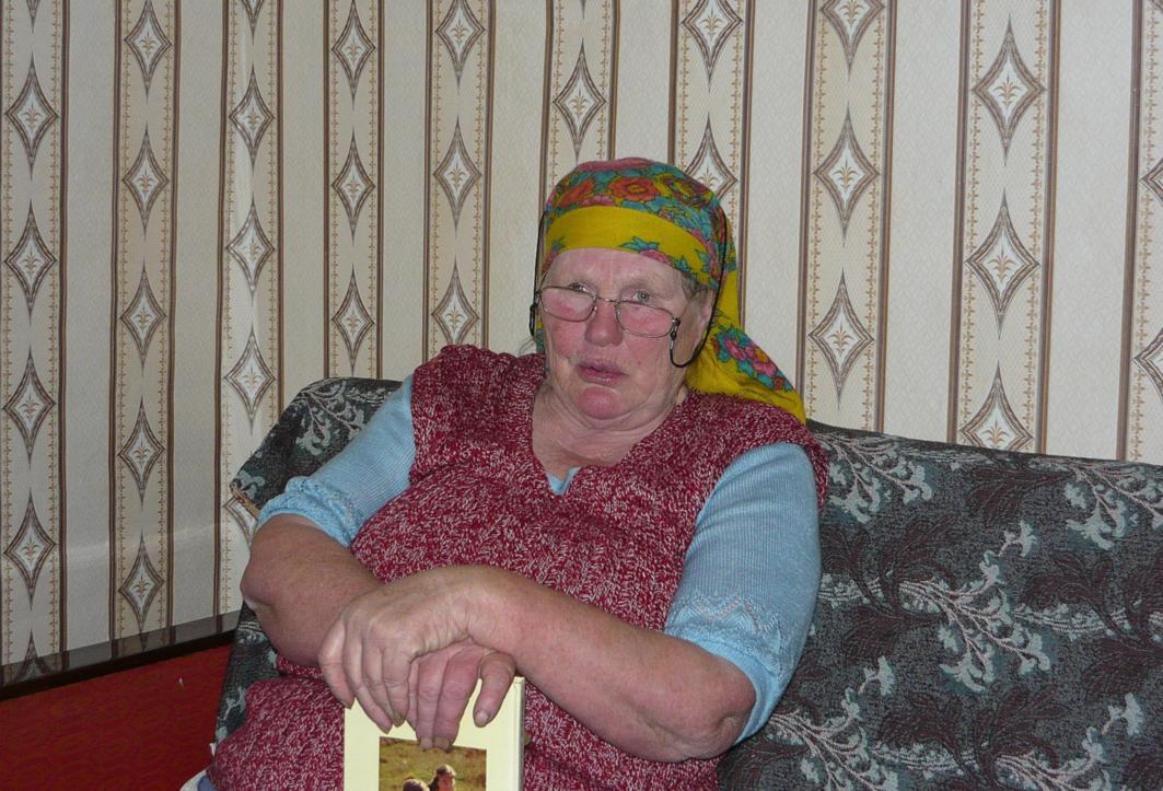 Стафеева Мария Ивановна, жительница деревни Щукнаволок