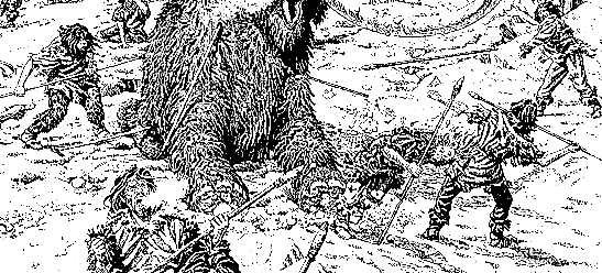 Древняя охота на Севере