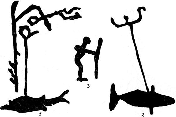 Петроглифы. Озерное рыболовство