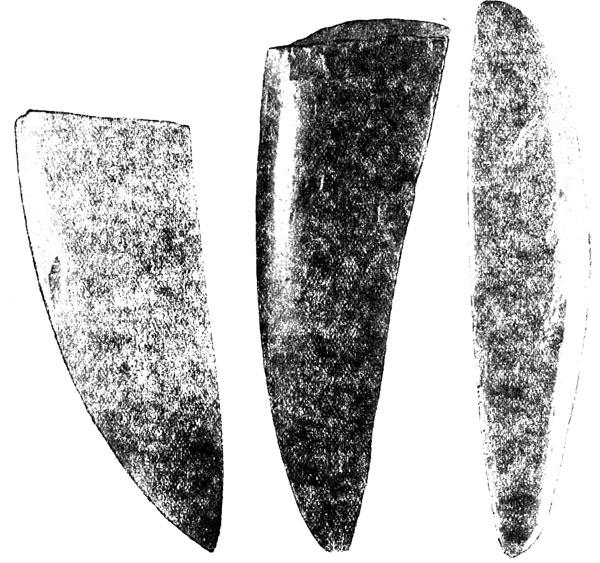Крупные ударные орудие в древней Карелии