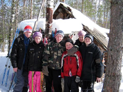 В Кибру на лыжах