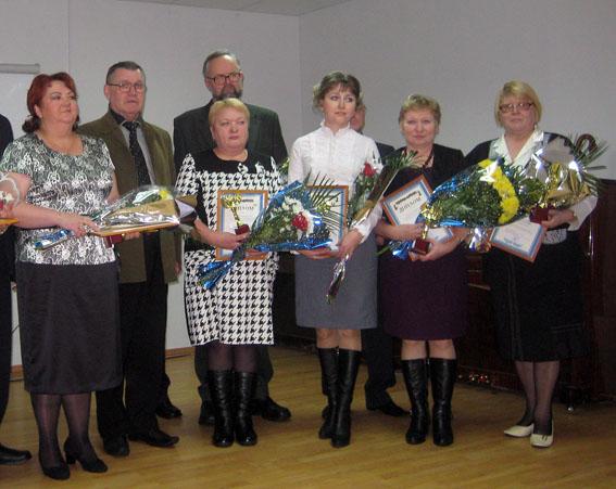 Татьяна Андреева из Ведлозера была удостоена звания «Лауреат 2011 года Пряжинского национального муниципального района»