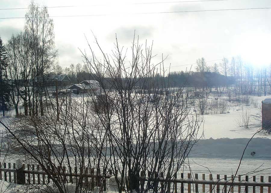 Весна в Ведлозере. Март. 2012 год
