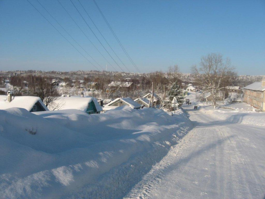 Зима в Ведлозере